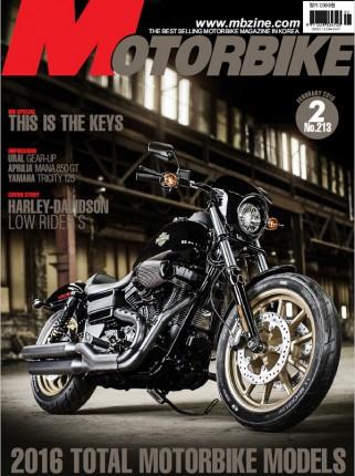 MOTORBIKE 2016년 02월호
