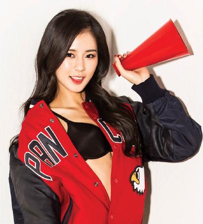 2015년 2월호 박기량 [메이킹영상]